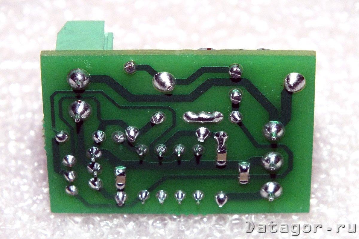 схема вкл авто дхо на микроконтроллере pic